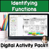 Identifying Functions Digital Activity Pack!
