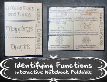 Identifying Functions INB TEKS 8.5G