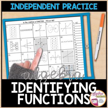 Function or Not Practice Worksheet
