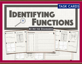 Identifying Functions (ordered pairs, tables, mappings, graphs) TASK CARDS