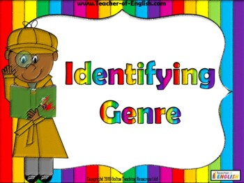 Identifying Genre - Key Reading Skills