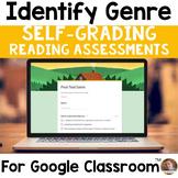Identifying Genre SELF-GRADING Assessments for Google Classroom