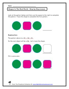 Identifying Geometric Shapes In The Real World Teacher Worksheet Pack