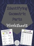 Identifying Geometry Worksheets