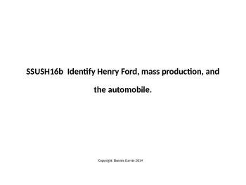 Identifying Henry Ford