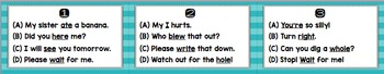 Homophones: Identifying and Using in a Sentence