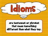 Common Core Idioms Interactive PPT Revised CCSS Grades 3,