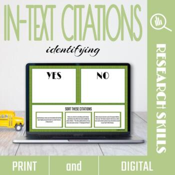 Identifying In-Text Citations