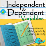 Identifying Independent and Dependent Variables-Student's Notes, Foldable