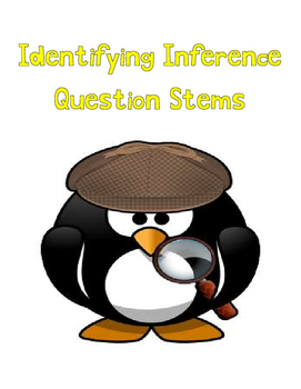 Identifying Inference Question Stems