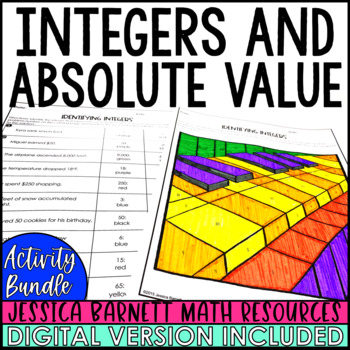 Integers and Absolute Value Activities