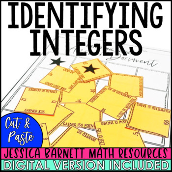 Identifying Integers Puzzle Activity