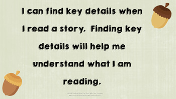 Identifying Key Details in a Story
