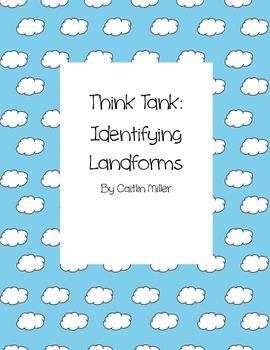 Identifying Landforms Think Tank