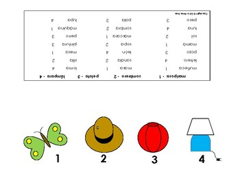 Identifying Letter Sounds in Spanish