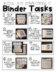 #springintosped3 Identifying Letters- Binder Basics Work System