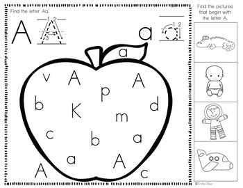 Identifying Letters and Initial Sounds