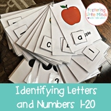 Identifying Letters and Numbers 1-20