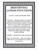 Identifying Linear Functions