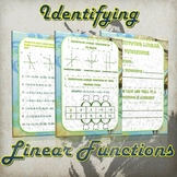 Identifying Linear Functions- (Guided Notes and Practice)