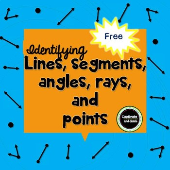 Identifying Lines, Line Segments, Angles, and Rays SOL 3.11