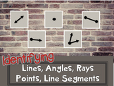 Identifying Lines and Parts of Lines Think Chat Write