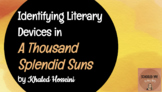 Identifying Literary Devices in Khaled Hosseini's A Thousa