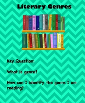 Identifying Literary Genres