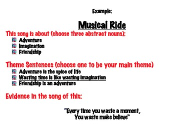 Identifying Literary Theme in Popular Song Lyrics