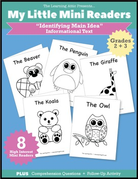 Identifying Main Idea - Nonfiction Books for Fluent Readers