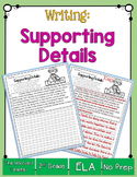 Identifying Main Idea & Supporting Details Printable