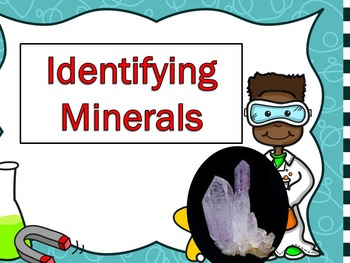 Identifying Minerals Power Point