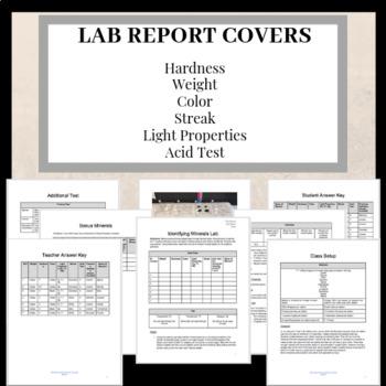 Identifying Minerals Lab Report