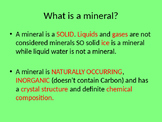 Identifying Minerals Notes