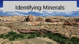 Identifying Minerals Powerpoint with 3 question quiz