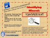 Identifying Minerals Scavenger Hunt (editable)