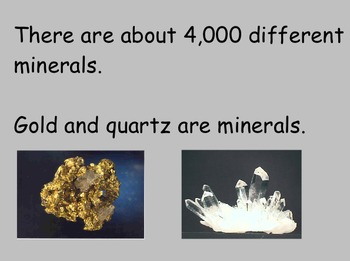 Identifying Minerals - Smartboard Lesson