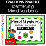 Identifying Mixed Numbers Mini Game