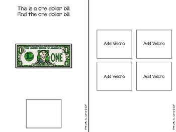 Identifying Money (An Adapted Book)