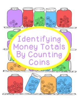 Identifying Money Using Different Coin Values Activity Math Counting Printables