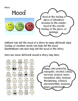 Identifying Mood using illustrations
