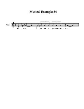 Identifying Musical Intervals