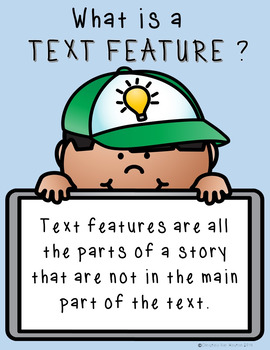Identifying Non Fiction Text Features