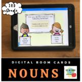 Third Grade Grammar: Nouns- Boom Cards-Distance Learning