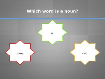 Identifying Nouns Interactive PowerPoint