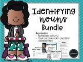 Identifying Nouns Task Cards and Activity Bundle