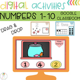 Math Digital Centers | Identifying Numbers 1-10