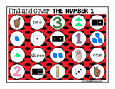Identifying Numbers: Identifying Numbers Find and Cover Activities