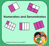 Identifying Numerators and Denominators for SMARTboards