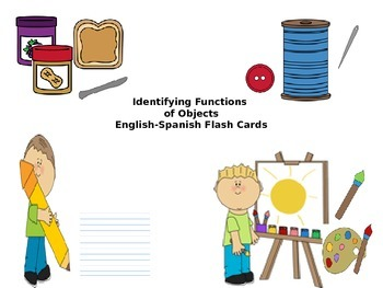 Identifying Object Functions in English and Spanish